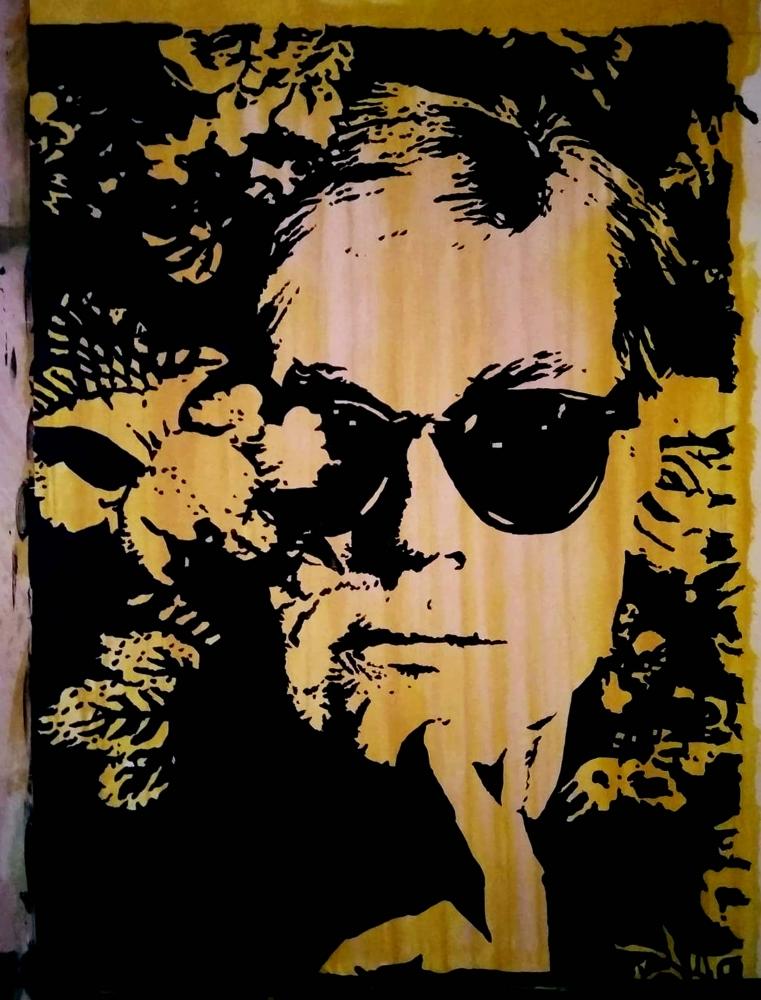 Andy Warhol by Bibourich